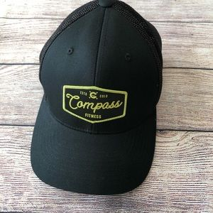 Mesh Back Hat Colorado Compass Fitness flexfit